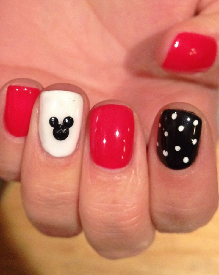 disney mani for delilah possibly an idea for the little girls - Little Girl Nail Design Ideas