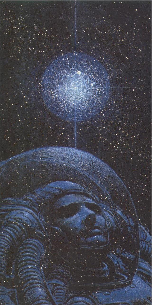 juan gimenez thinks about the universe