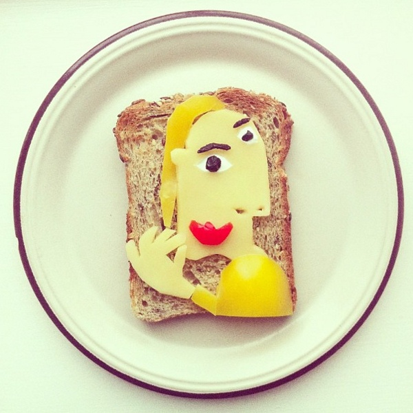 Picasso toast | Idafrosk