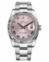 Rolex Datejust 36mm Acier Rose Cadran Oyster bracelet 116234 PRO