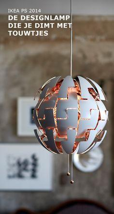 IKEA PS 2014 designlamp geïnspireerd op science fiction films | #IKEA #IKEAnl#ElkProductEenGoedVerhaal#vormen #verlichting #licht#inspiratie #sciencefiction#hanglamp #decoratief
