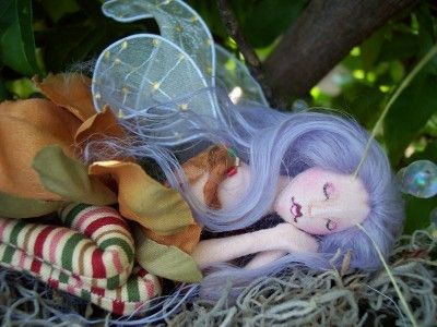 Fairy Doll Pattern  Sewing Tutorials  Download  by paulasdollhouse