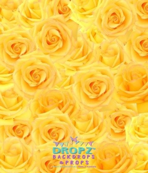 Yellow Rose  #backdrop #backdrops #photographybackdrop #cakedrop #photobackdrop #backdropsaustralia #scenicbackdrop #vinylbackdrop #photography #dropzbackdropsaustralia