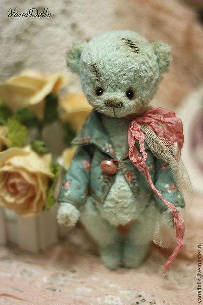 Teddy Bear / Мишки Тедди ручной работы. Заказать Марсель. YanaDolls. Ярмарка Мастеров. Мишки тедди, мишки, тедди, хлопок, диски
