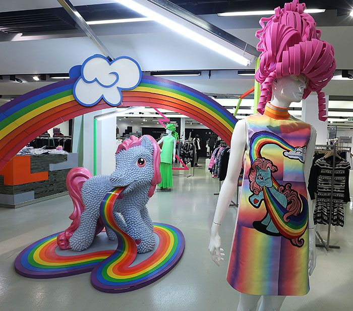 FYODOR GOLAN LOVES MY LITTLE PONY SELFRIDGES POP-UP