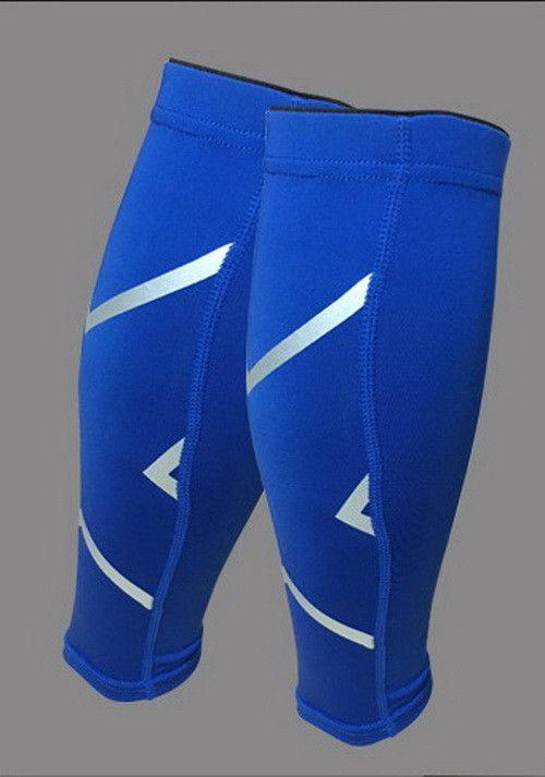 1 Pair Basketball Football Leg Shin Guards Soccer Protective Calf Sleeves Cycling Fitness calcetines Compresion Running