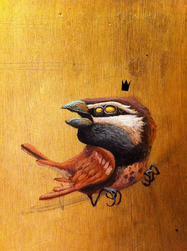 by Dulk  street art 000 bird