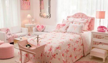 quartos de meninas bailarinas decorados