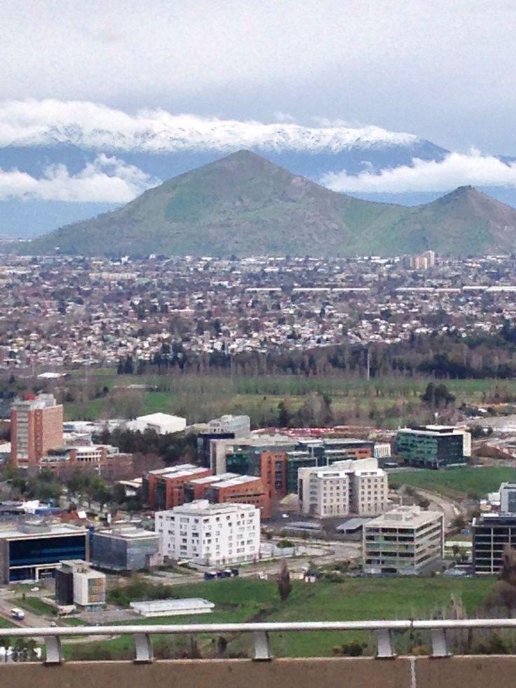 Ciudad empresarial, Santiago norte