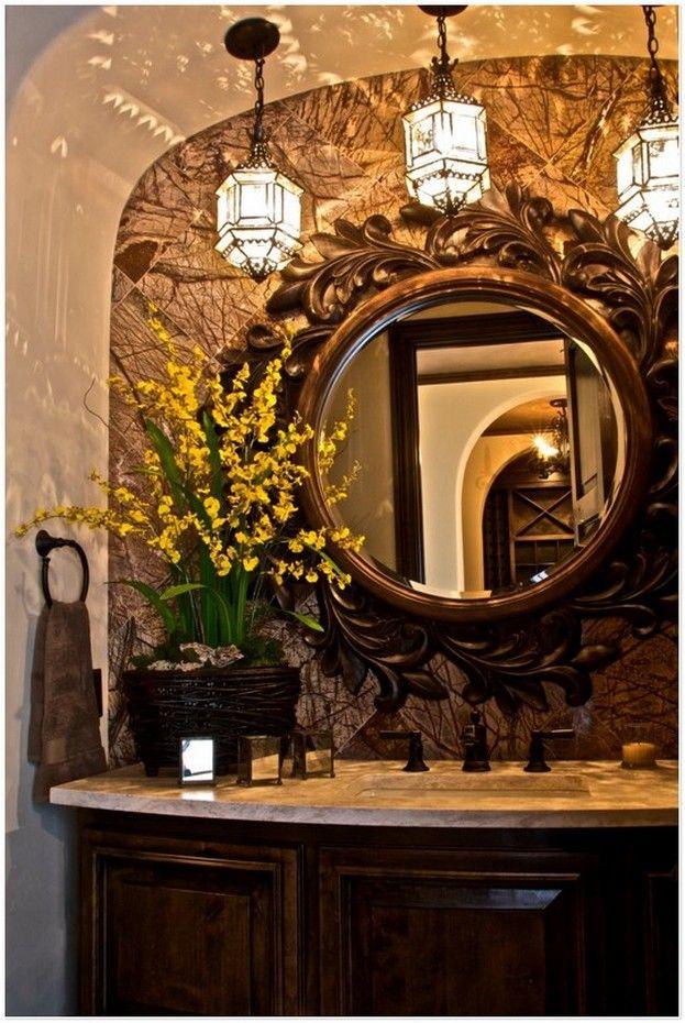 bathrooms custom home builder luxury home builder southlake texas dallas fort worth texas - Bathroom Mirrors Fort Worth Tx