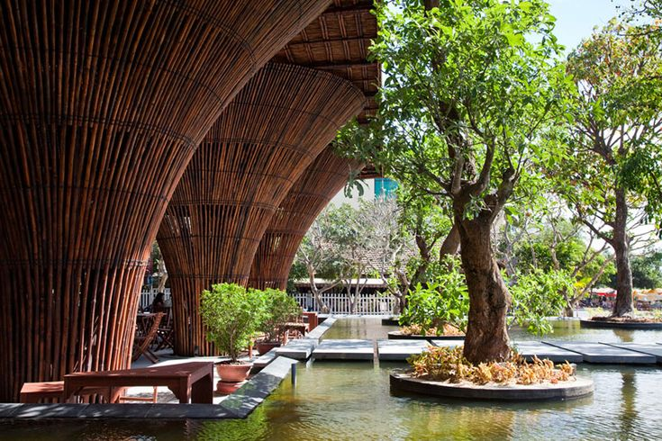 kontum indochine cafe by vo trong nghia architects in kontum, vietnam
