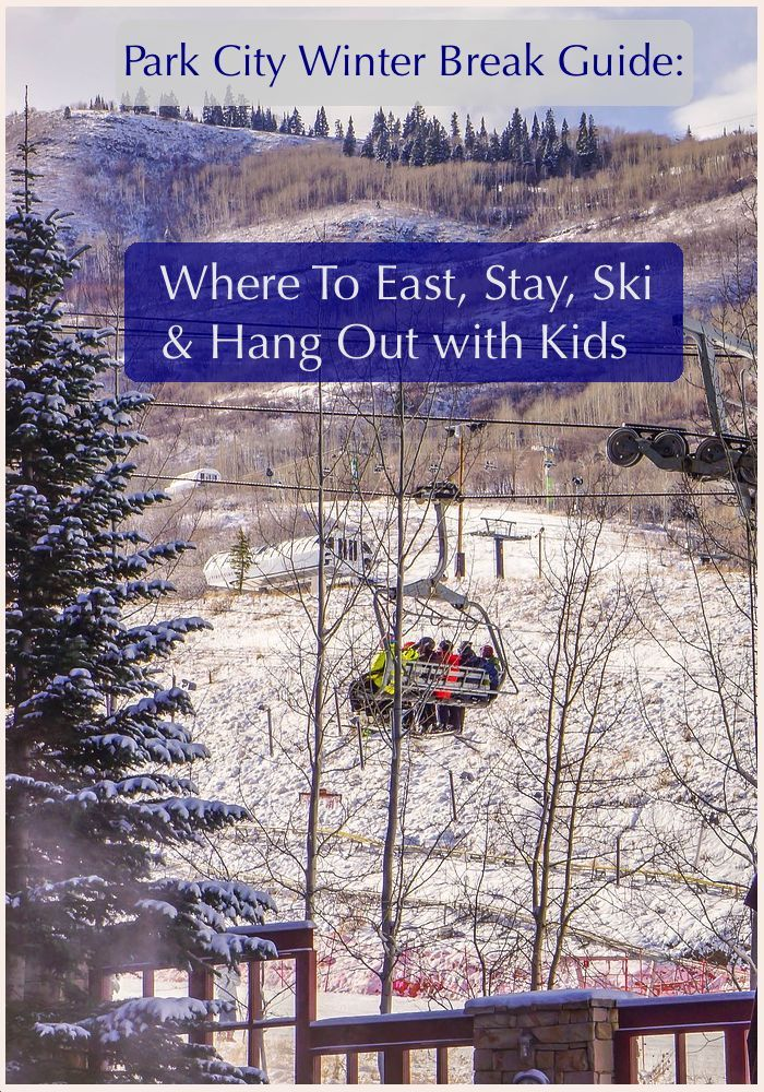 Park City has plenty for families to do on a Winter vacation. There are the ski slopes, plus other outdoor and cultural activities for non-skiers. And great kid-friendly restaurants and resorts. Here are the essentials. #parkcity #skivacation #kids
