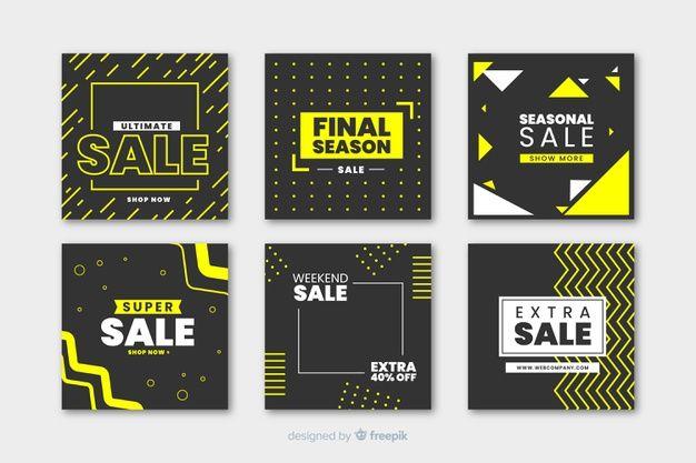 Download Modern Sales Banner For Social Media For Free Sale Banner Vector Free Banner