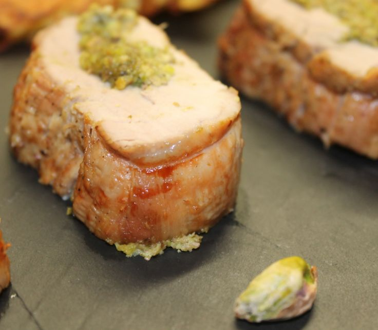 It's easy !: Filet pur de porc farci aux pistaches