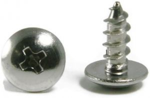 #10 Phillips Truss Head Sheet Metal Screws 18-8 Stainless Steel