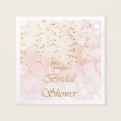 Elegant glitter bridal shower  Napkins - kitchen gifts diy ideas decor special unique individual customized