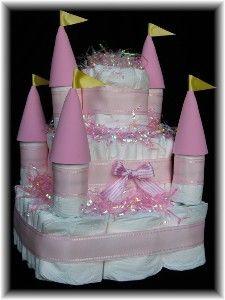 25 Best Ideas About Castle Diaper Cakes On Pinterest