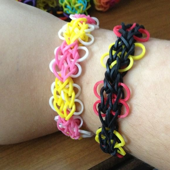 83 Best Images About Loom Band Ideas On Pinterest