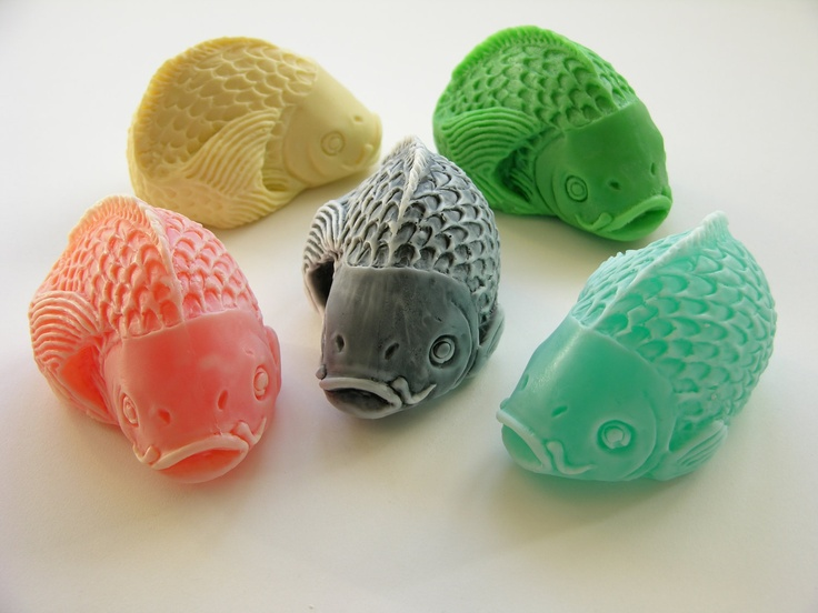 Koi fish soap soaps etsy and