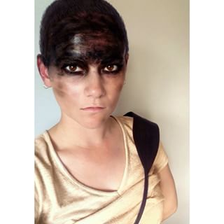 """And that shorn hairstyle. 