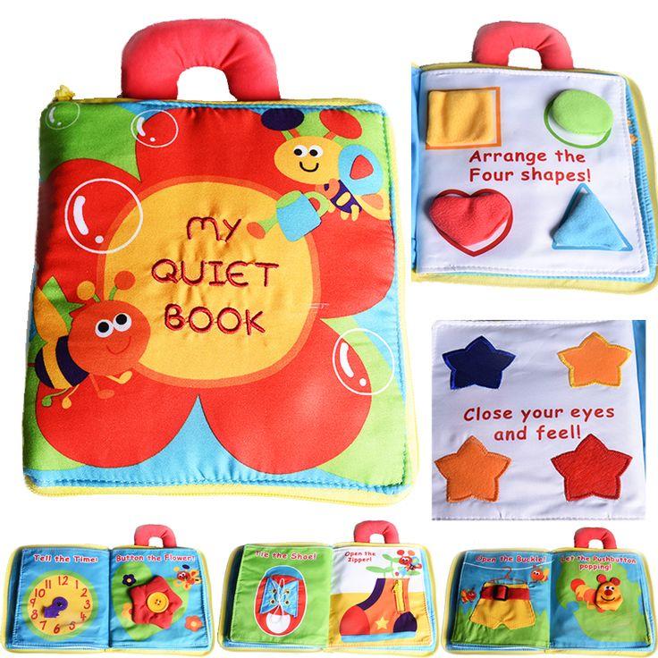 새로운 스테레오 꽃 아기 장난감 뜨거운 새로운 유아 아이 조기 개발 헝겊 책 학습 교육 장난감 창조적 인 선물 책