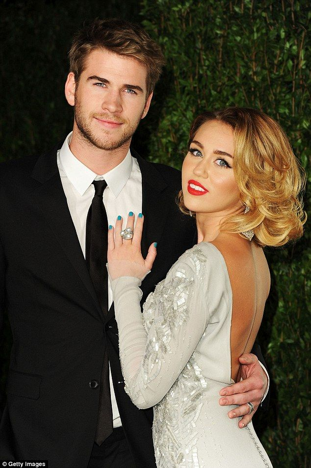 Back together? Actor Liam Hemsworth and singer Miley Cyrus may have rekindled their romanc...