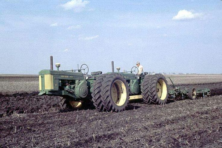 Tandem John Deere Tractors : Best images about john deere tractor family on