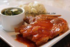 Côtelettes de porc avec sauce à la diable Voici ma recette pour réaliser les meilleurs côtelettes de porc avec sauce à la diable.