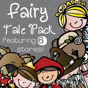 Fairy Tales: This fairy tales pack is a comprehensive Fairy Tales unit!Six different fairy tale companions are included:Jack and the BeanstalkCinderellaGoldilocks and the Three BearsThe Frog PrinceThe Three Little PigsLittle Red Riding HoodEach Fairy Tale companion includes:-a student cover page-a story map-3 different 'Let's Compare' pages for making text-to-self connections-'Character Traits' pages for each character in every fairy tale-2 'Just My Opinion' pages-a 'What If?' creative…