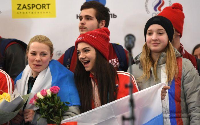#locationdavion #kevelair L'accueil des athlètes russes ayant participé aux JO à l'aéroport ... - Sputnik France #kevelair