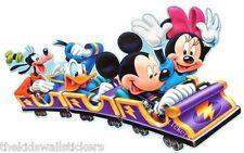 "Disney Mickey Mouse Minnie Donald Goofy Clubhouse Wall Sticker Decor GIANT 33"""