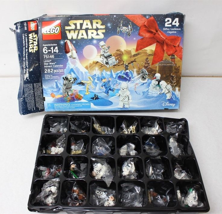 LEGO 75146 Star Wars Advent Calendar 282pcs New Box Damage Free Shipping