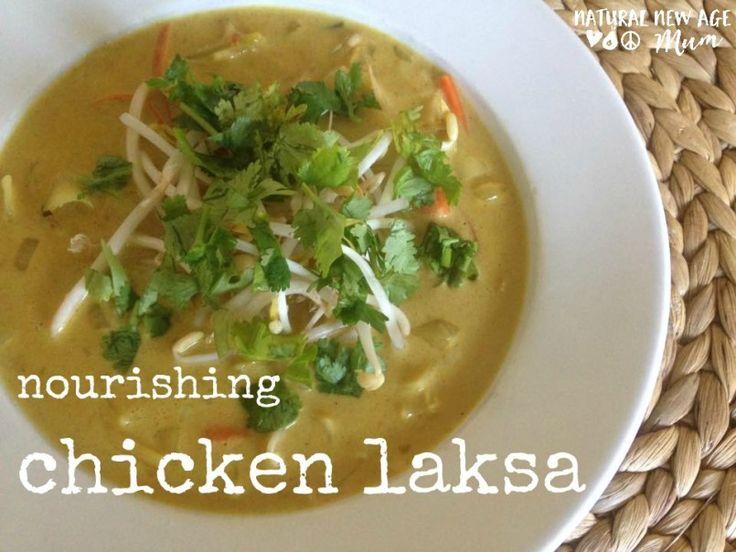 Nourishing Chicken Laksa - Natural New Age Mum