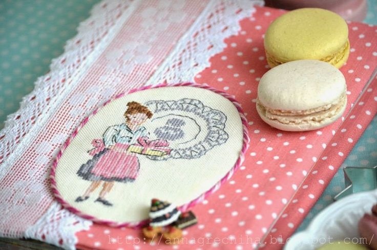 Handmade fairy tale Anne Buckwheat Cookbook with a French accent.