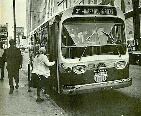 """The 'Safe Bus Company', chartered in 1926, was the only African American-owned city bus company in the nation that ran a fixed route for the general public. Several small """"jitney"""" services merged their operations to better serve Winston-Salem's African-American citizens. With the motto """"safety and service,"""" Safe Bus Company eventually employed more than 80 drivers and carried 8,000 passengers a day."""