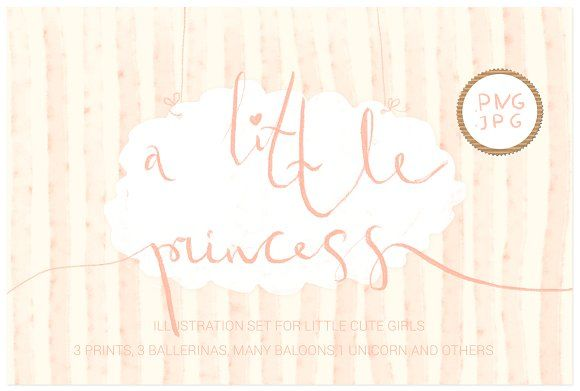 A little princess ( png clipart ) by Chayka shop on @creativemarket