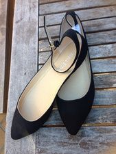 Black flats - never worn size 9