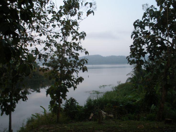 Beatiful view from Pintupo Community (Guna Yala Ethnic Group), Bayano Lake, Panama... More info at: https://www.google.com/search?q=Pintupo+Community&oq=Pintupo+Community&aqs=chrome..69i57.9430j0j4&sourceid=chrome&espv=210&es_sm=93&ie=UTF-8#q=Pintupo+Kuna+Yala+Community+Bayano+Lake&spell=1