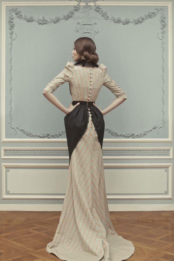 ULYANA SERGEENKO Couture S/S 2013 LOOKBOOK on Behance