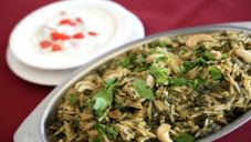 Spinach Biryani Recipe