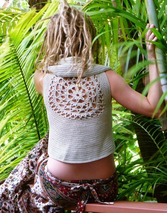 RESERVED FOR KESHEENA Pixie Girl Mandala Cotton by Wyldeskye