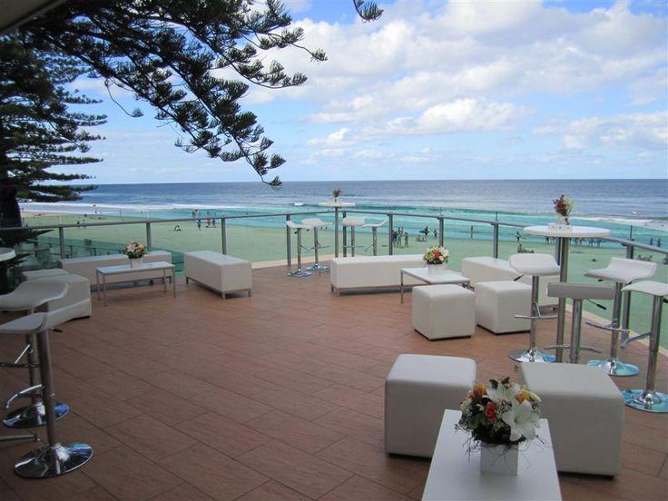 Reception balcony