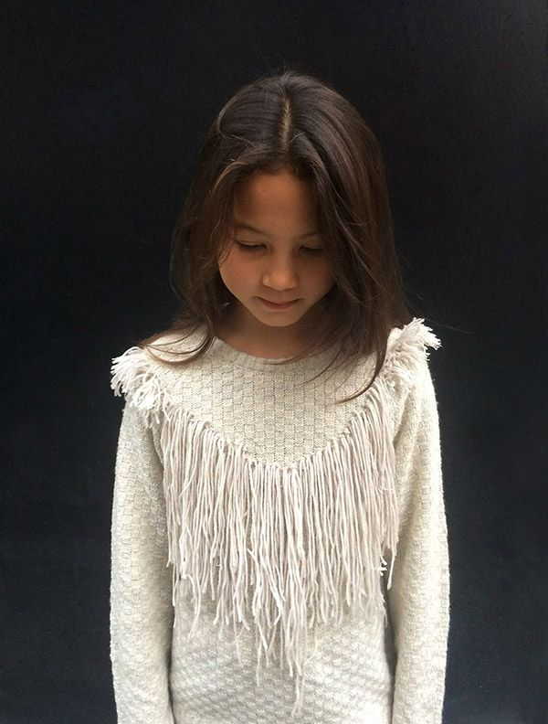 { DIY Crochet Fringe Sweater }