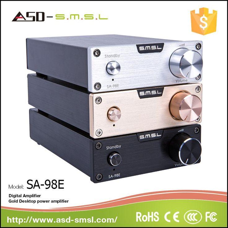 SMSL High Power surround sound amplifier 2.0 ch optical