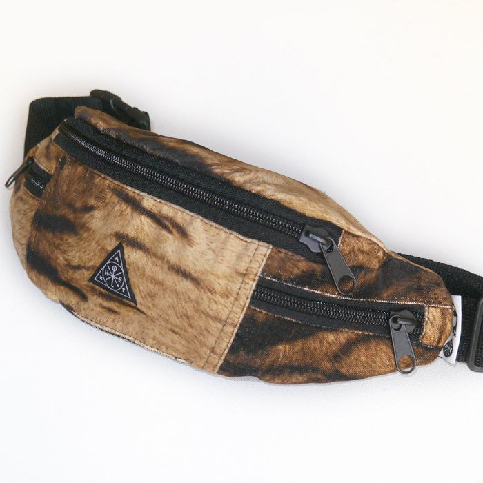 Fanny Bag, Fanny Pack, Bum Bag, Hip Bag, Hip Pack Hungry Tiger by PSIAKREW on Etsy