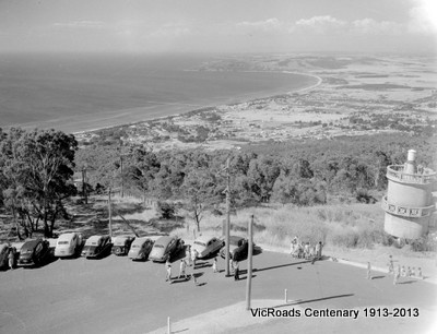 1955 Arthur's Seat, tower and view