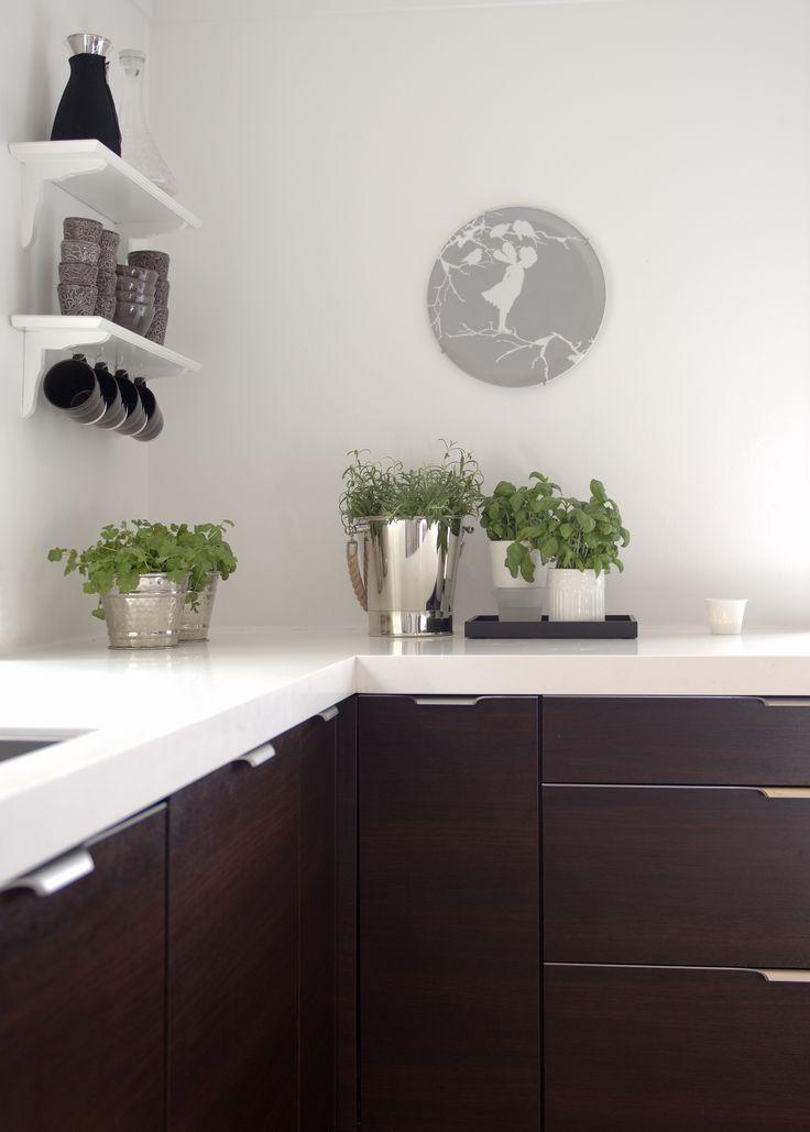 Kitchen, Pied à Terre - Designed by Norwegian Interior Architect firm Metropolis arkitektur & design - www.metropolis.no
