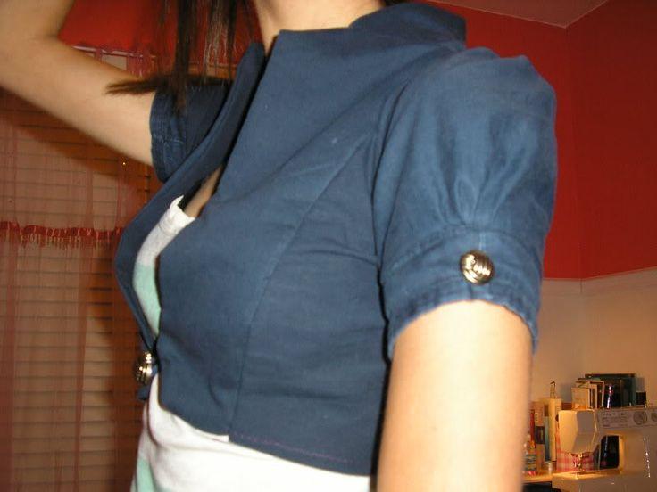 Peace+love+pants= my fav bolero!*TUTE!!! lotsofpics!* - CLOTHING