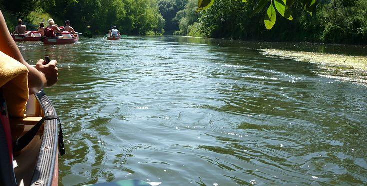 Kanutour Wochenende Nebra #Abenteuer #Boote #Bootsfahrt