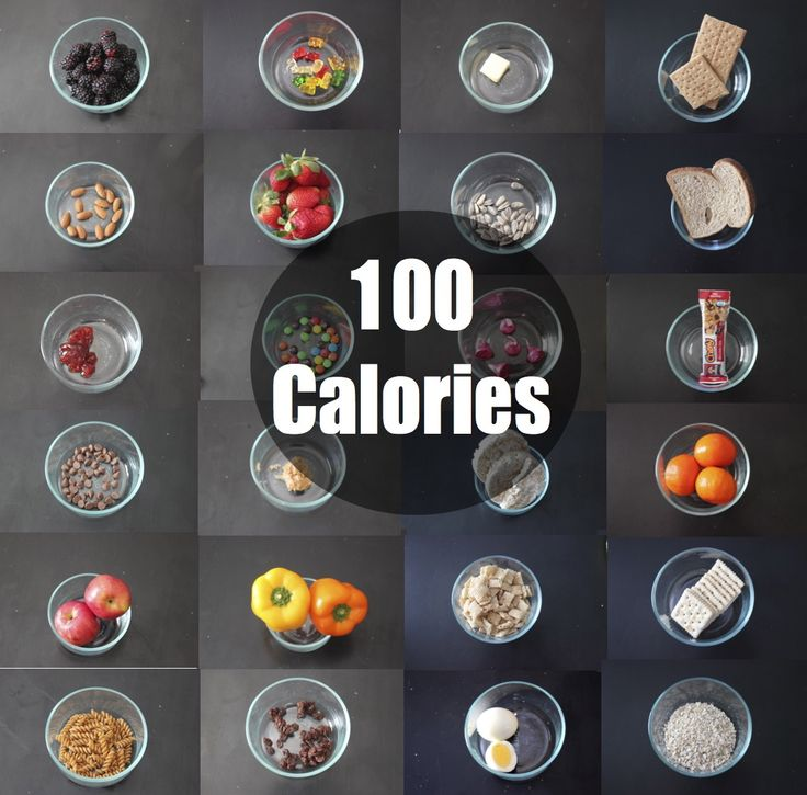 "WHAT DOES 100 CALORIES REALLY LOOK LIKE? From gummy bears to strawberries, 100 calories can look so different. - ""Live…Don't Diet"""